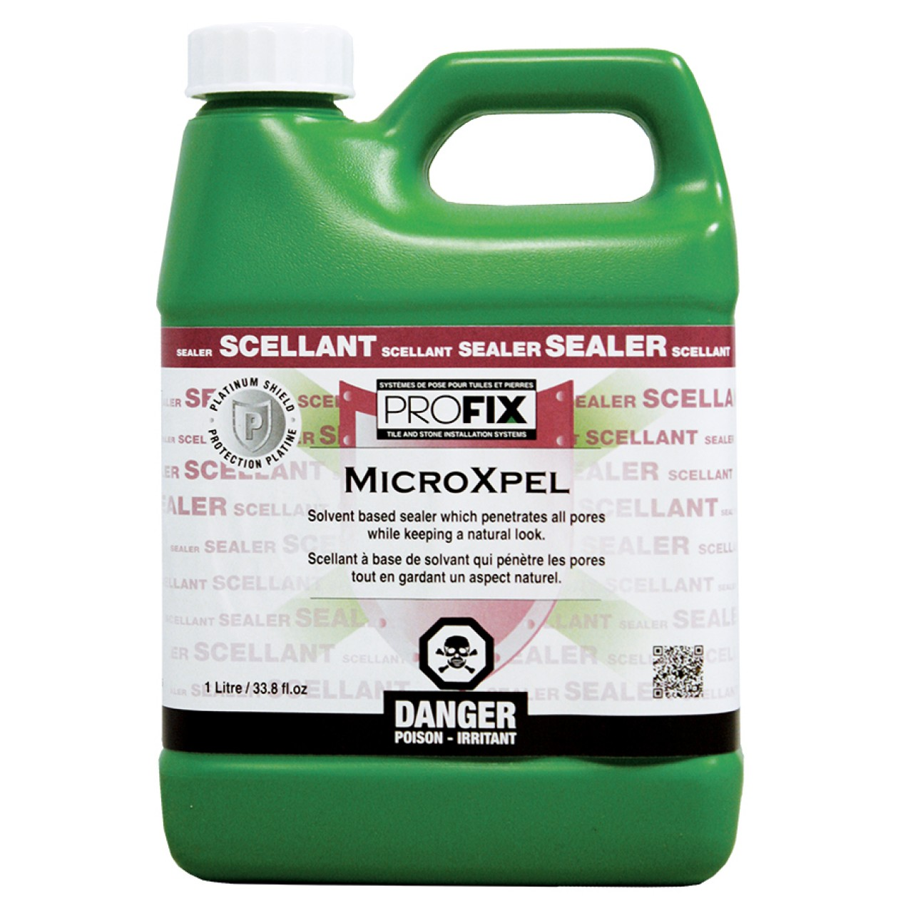 Profix Systems MICROXPEL (Solvent Based Sealer for Tile and Stone)