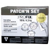 PATCH'N SET PREMIUM (High-Performance Patching Mortar)